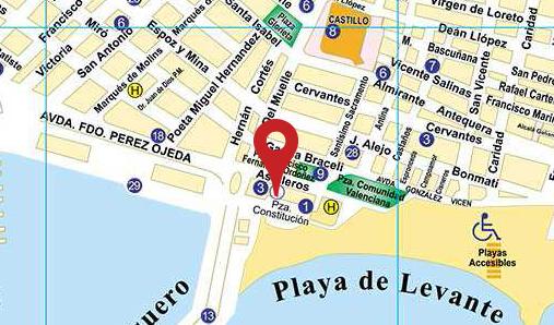 localización ayuntamiento de Santa Pola